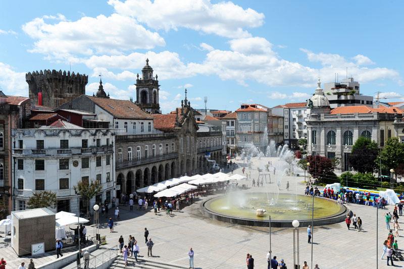 Braga, 02/06/2014 - Fotografias de Braga. (Sérgio Freitas)